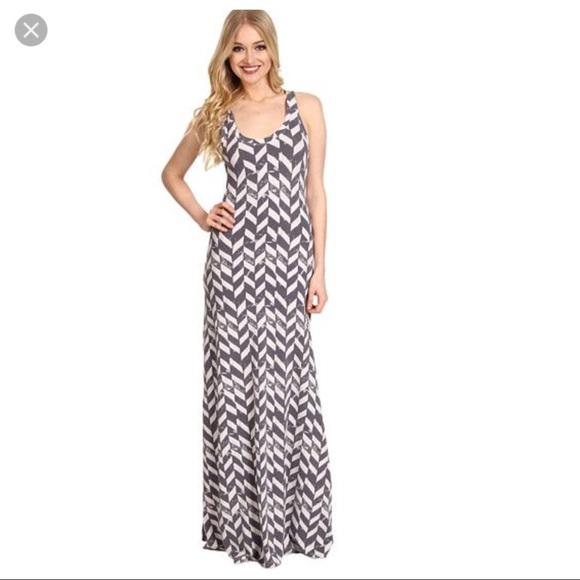 Alternative Apparel Dresses Croquet Maxi Dress Racerback M Poshmark